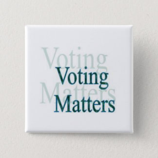 Voting Matters Pinback Button
