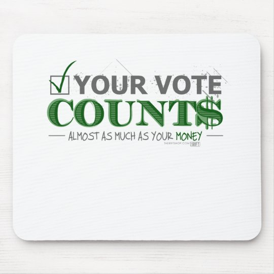 Voting Mouse Pad
