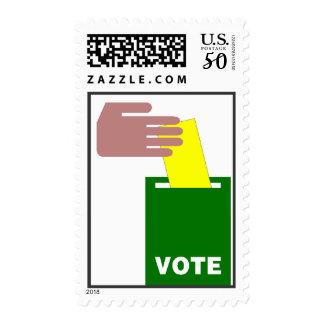 Voting Reminder  Postage Stamp