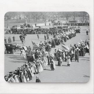 Voting Rights March, 1916 Mouse Pad