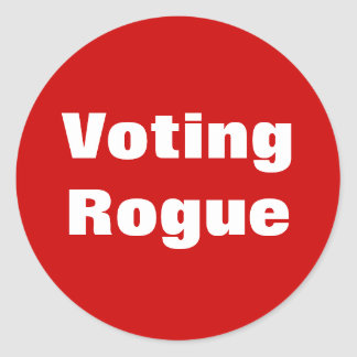 Voting Rogue Stickers