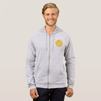 Voting Shows Your Character -- Gold & White Hoodie