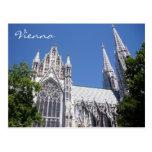 votiv vienna church postcard
