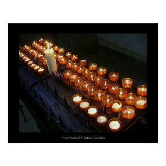 Votive Candles Print