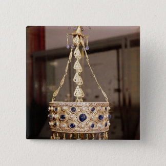 Votive crown of King Recesvinth Button
