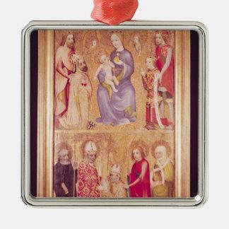 Votive panel Archbishop Jan Ocko of Vlasim Metal Ornament