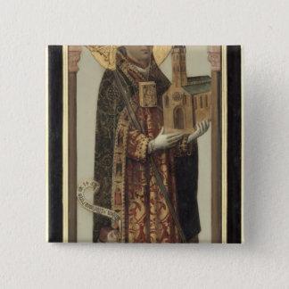 Votive Panel Depicting St. Ansgar, 1457 Button