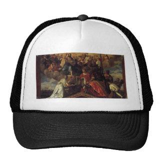 Votive Portrait of Doge Sebastiano Venier by Paolo Trucker Hat