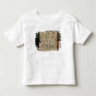 Votive sculpture of a triple mother deity toddler t-shirt