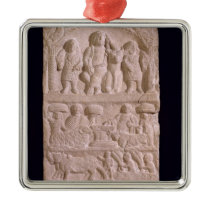 Votive stela dedicated to Sature Metal Ornament