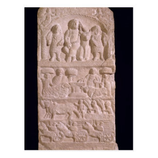 Votive stela dedicated to Sature Postcard