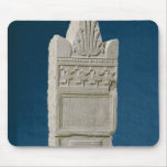 Votive stele with a triangular pediment mouse pad