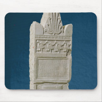 Votive stele with a triangular pediment mouse pad