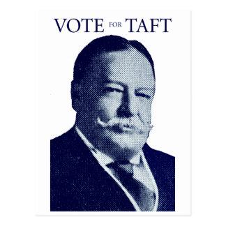 Voto 1912 para Taft Postal