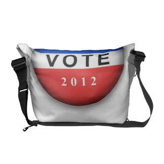 Voto 2012 de los E.E.U.U. Bolsas De Mensajeria