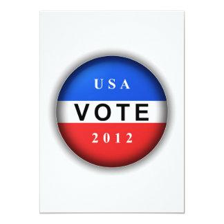 Voto 2012 de los E.E.U.U. Comunicado Personalizado