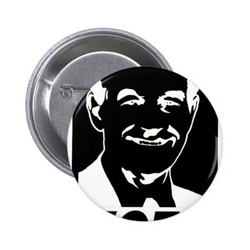 Voto 2012 de Ron Paul Pin Redondo 5 Cm