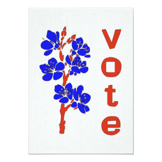 """VOTO 2012 INVITACIÓN 5"""" X 7"""""""