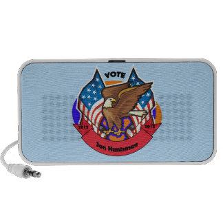 Voto 2012 para el Huntsman de Jon Altavoz De Viajar