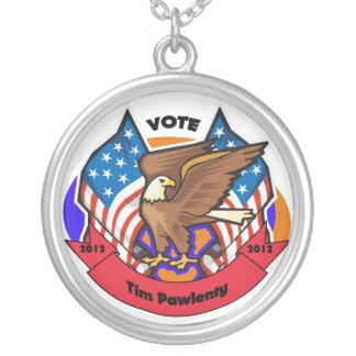 Voto 2012 para Tim Pawlenty Colgante Redondo