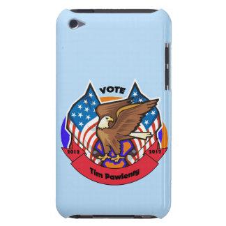 Voto 2012 para Tim Pawlenty iPod Touch Protector