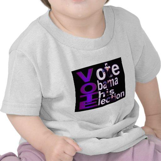 VOTO 2012 CAMISETAS