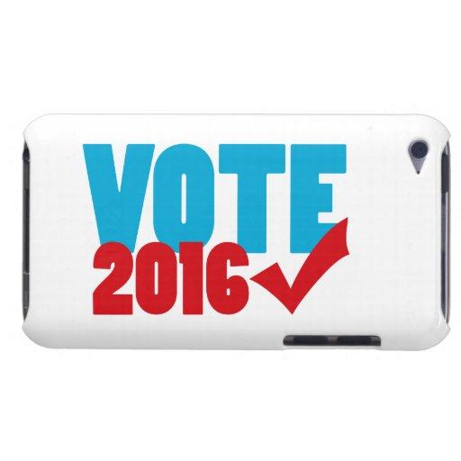 Voto 2016 barely there iPod cárcasas