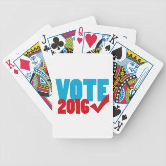 Voto 2016 baraja