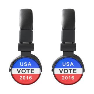 VOTO 2016 DE LOS E.E.U.U. AURICULARES