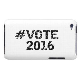 Voto 2016 Hashtag apenado iPod Case-Mate Coberturas