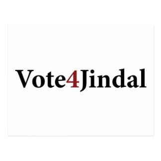 Voto 4 Jindal Tarjetas Postales