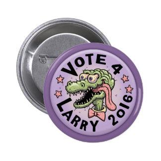 Voto 4 Larry Pin Redondo De 2 Pulgadas