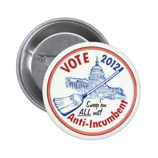 Voto Anti-Obligatorio en 2012 Pins