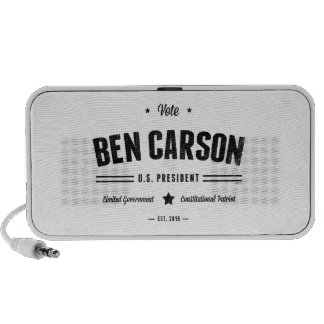 Voto Ben Carson 2016 Altavoz De Viajar