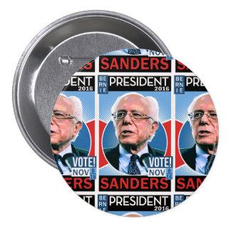 Voto Bernie chorreadoras 8 de noviembre de 2016 Pin Redondo 7 Cm