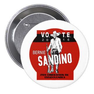 Voto Bernie Pin Redondo De 3 Pulgadas