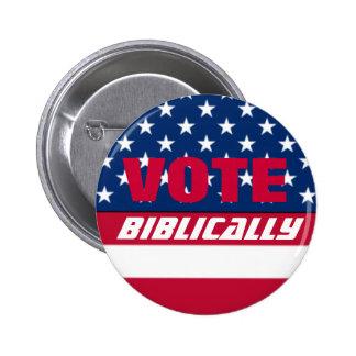 Voto bíblico pins