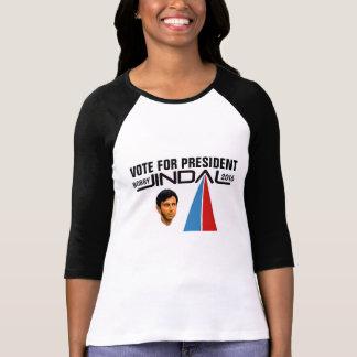 Voto Bobby Jindal para el presidente 2016 Playera