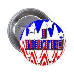 ¡Voto! Botón Pins
