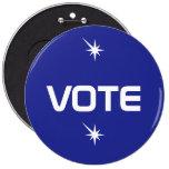 * VOTO * botón Pins