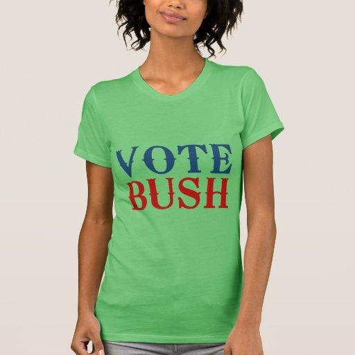 VOTO BUSH 2012.png Camisetas