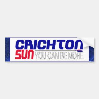 Voto Crichton Sun Pegatina Para Auto
