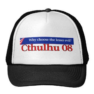 Voto Cthulhu en 2008 Gorros
