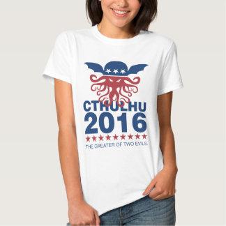 Voto Cthulhu para el presidente Playeras