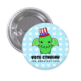 Voto Cthulhu para presidente Button Pin