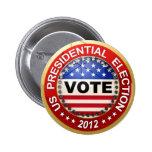 Voto de la elección presidencial 2012 pin