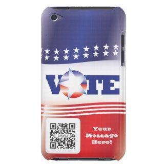 voto de la plantilla del caso del tacto de iPod iPod Touch Case-Mate Fundas