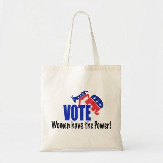 Voto de las mujeres bolsa