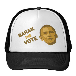 voto de obama gorros