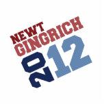 VOTO DECISIVO 2012 DE NEWT GINGRICH ESCULTURA FOTOGRAFICA